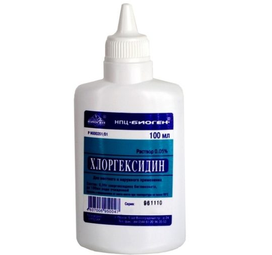 Для лечения фурункула используйте антисептики
