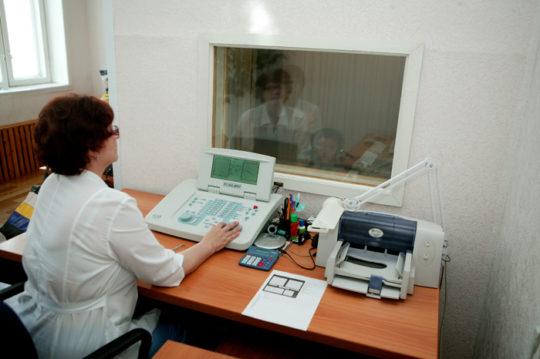 Для постановки диагноза может понадобиться аудиометрия