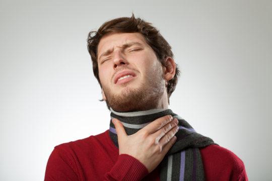 Болит ухо и горло