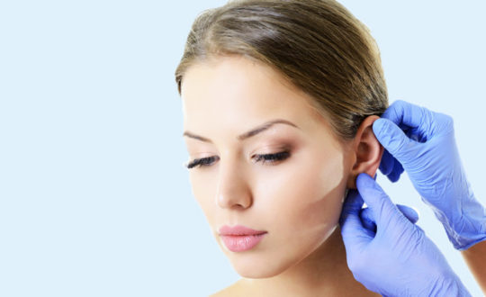 На наружном ухе появляются буллы при вирусном отите