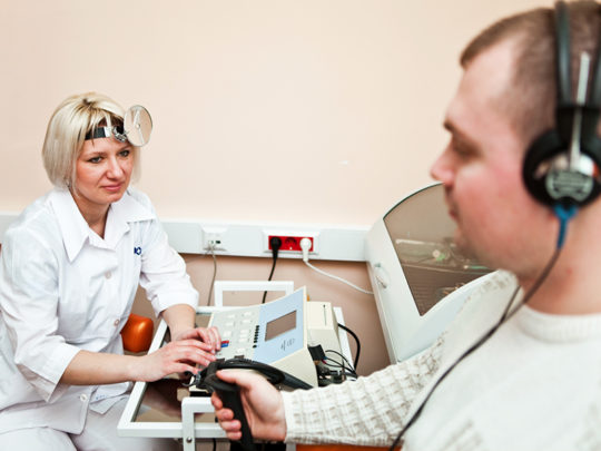 Сурдолог занимается проблемами внутреннего уха