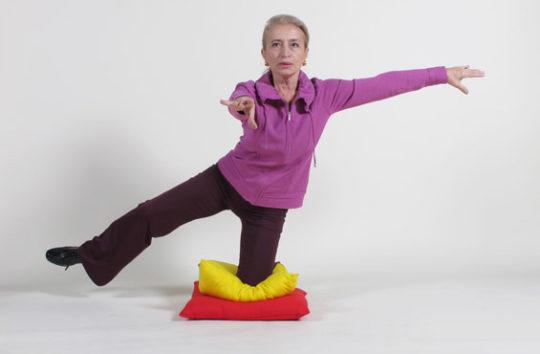 Тренировки равновесия должны быть ежедневными