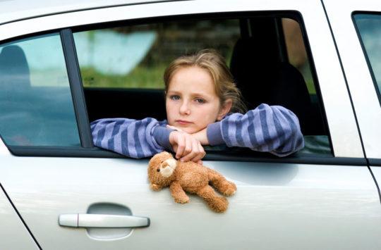 Девочки часто страдают от укачивания в транспорте