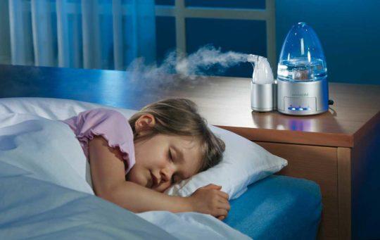 На ночь включайте увлажнитель воздуха