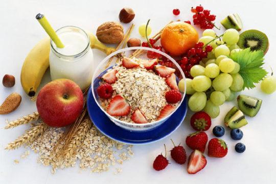 Витаминизированное меню - один из аспектов лечения отита
