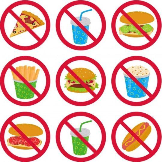 Минимальный перечень запрещенных продуктов при гнейсе