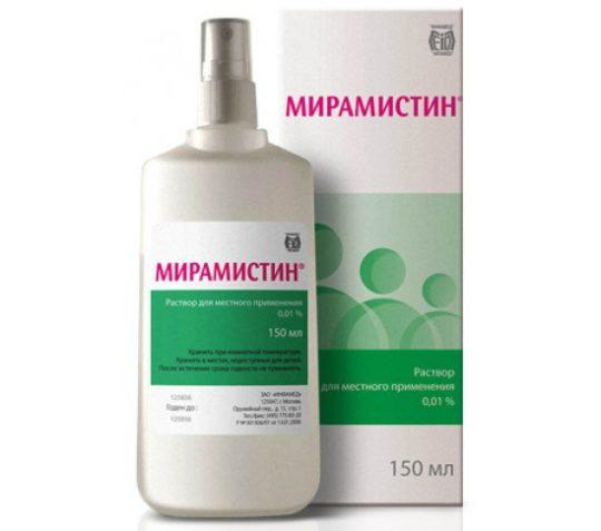 В течение первых недель обрабатывайте рану 1-2 раза в день антисептиком, например, Мирамистин