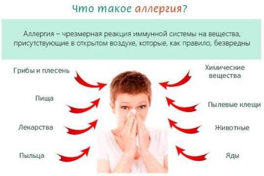Аллергия - ответная реакция организма