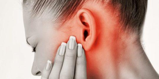 Гиперемия уха