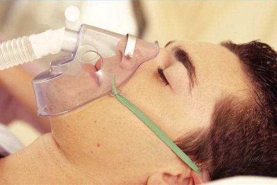 Рекомпрессию обеспечивают кислородные ингаляции