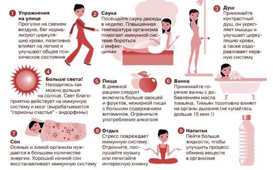 Элементарные советы для укрепления здоровья
