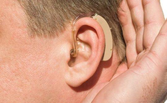 Нарушение слуховой функции - тугоухость