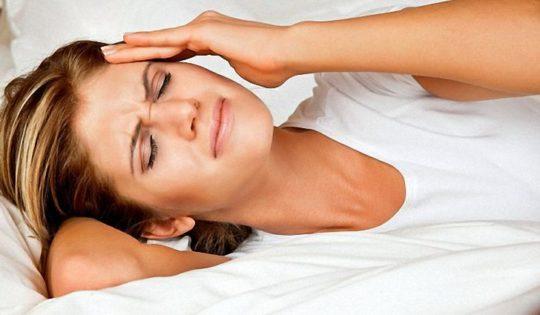 Почему после сна заложены уши?