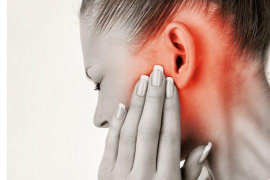 Ушная боль при жевании усиливается