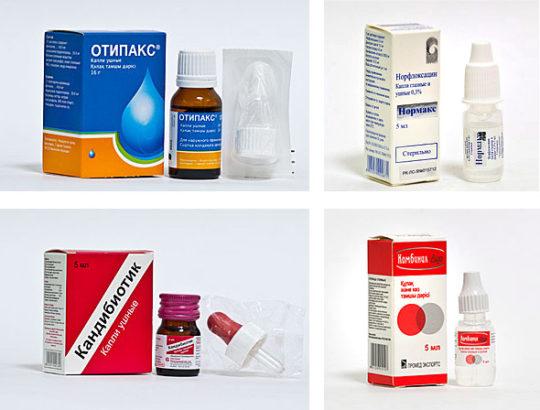 Лекарства от отита
