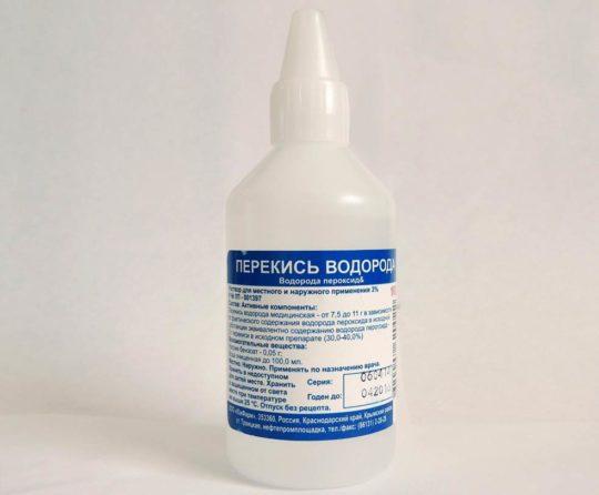 Перекись водорода для лечения и чистки ушей