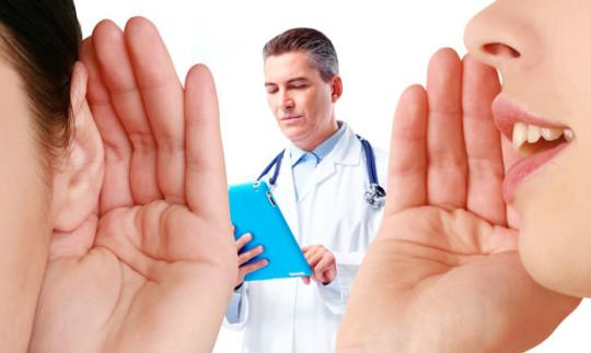 Ухудшение слуха - один из симптомов полипа