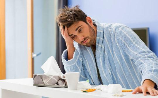 Простудные заболевания - частая причина воспаления ушей