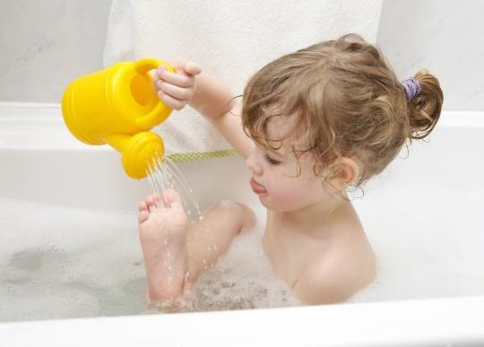 Средства для купания могут вызывать аллергию