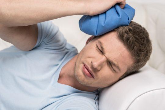 Травма головы увеличивает риск развития опухолей в ушной и черепной полостях